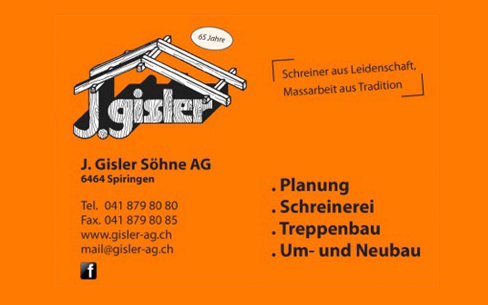 J. Gisler & Söhne AG