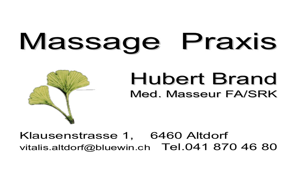 Massage Praxis Hubert Brand